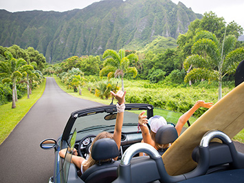 cars for adventure trips on hawaii