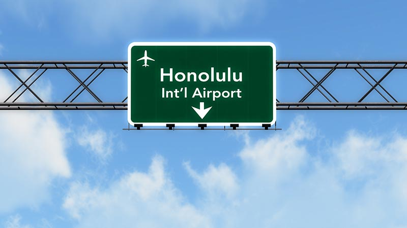 honolulu sign