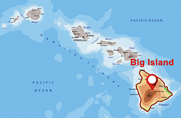 Where is Big Island?