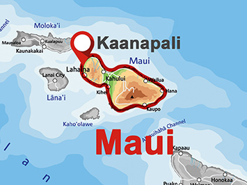 Where is Kaanapali on Maui?