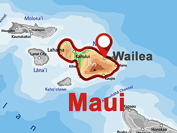 Where is Wailea on Maui?