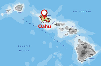 Where is Oahu?